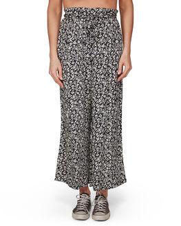 OFF BLACK WOMENS CLOTHING BILLABONG PANTS - BB-6507407-OFB