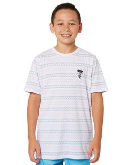 WHITE KIDS BOYS BILLABONG TOPS - 8582012WHT