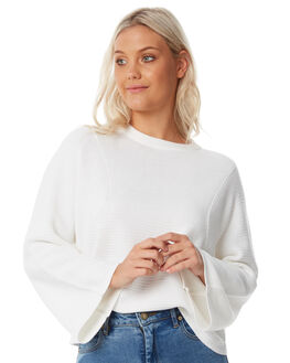 WHITE WOMENS CLOTHING THE HIDDEN WAY KNITS + CARDIGANS - H8183148WHITE