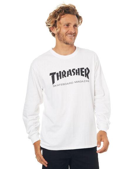 WHITE MENS CLOTHING THRASHER TEES - 20165313WHT