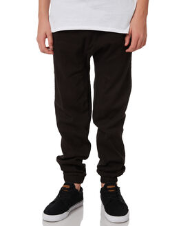 BLACK KIDS BOYS RUSTY PANTS - PAB0188BLK