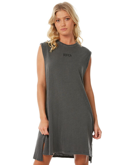 WASHED BLACK OUTLET WOMENS RVCA DRESSES - R281761WBK