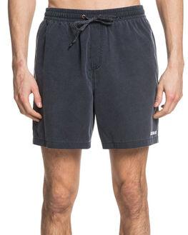 BLACK MENS CLOTHING QUIKSILVER BOARDSHORTS - EQYJV03538-KVJ0