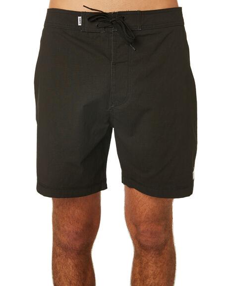 DIRTY BLACK MENS CLOTHING BANKS BOARDSHORTS - BSU005DBL