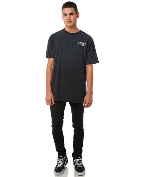 BLACK ON BLACK MENS CLOTHING VOLCOM JEANS - A1931610BKB