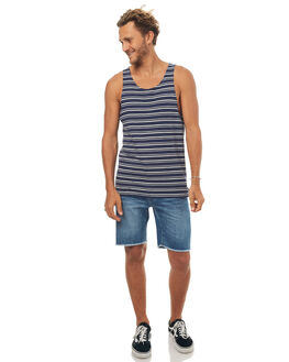 NAVY MENS CLOTHING SWELL SINGLETS - S5171275NAVY