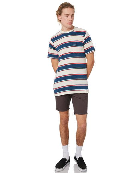WHITE FLASH MENS CLOTHING VOLCOM TEES - A0141901WHF