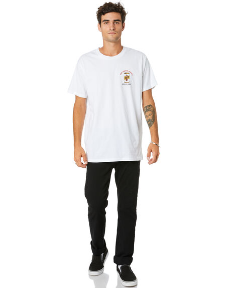 WHITE MENS CLOTHING THE LOBSTER SHANTY TEES - LBSLOBSTTWHT