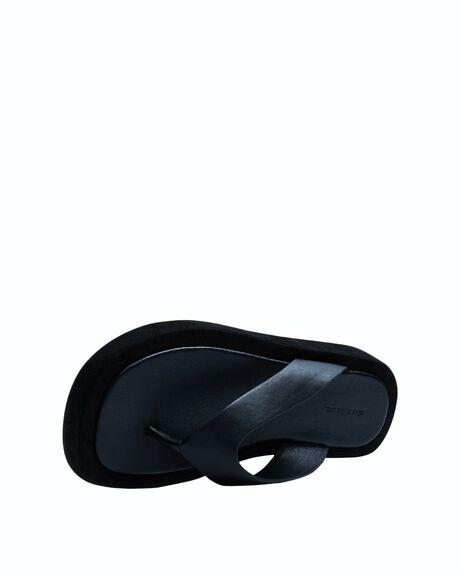 BLACK WOMENS FOOTWEAR ALICE IN THE EVE THONGS - 38874400015