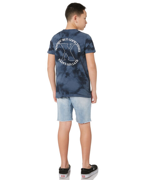 BLUE KIDS BOYS ST GOLIATH TOPS - 2441013BLU