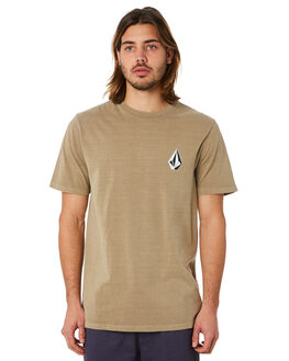 SAND BROWN MENS CLOTHING VOLCOM TEES - A5241871SND