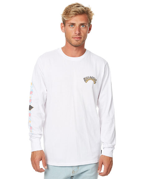 WHITE MENS CLOTHING BILLABONG TEES - 9576173WHT