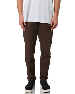 CHOCOLATE BROWN MENS CLOTHING DICKIES PANTS - WE872CBRN