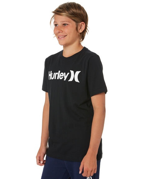 BLACK KIDS BOYS HURLEY TOPS - HH981106023