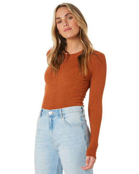 RUST WOMENS CLOTHING O'NEILL TEES - 5421104RUST