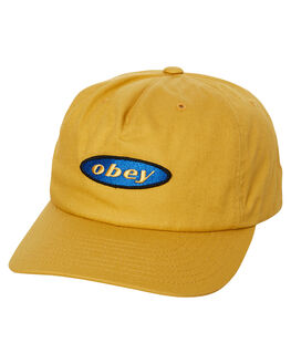 GOLDEN PALM MENS ACCESSORIES OBEY HEADWEAR - 100570098GPM
