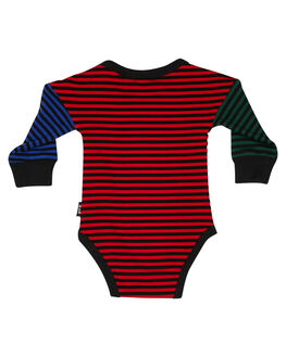 MULTI STRIPE KIDS BABY ROCK YOUR BABY CLOTHING - BBB1996-MCMULS