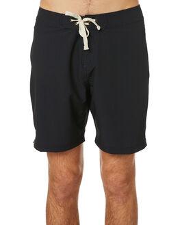 BLACK MENS CLOTHING MCTAVISH BOARDSHORTS - MSP-19BS-03BLK
