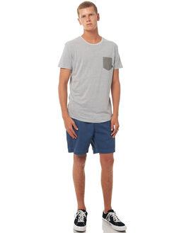 LIGHT GREY HEATHER MENS CLOTHING QUIKSILVER TEES - EQYKT03662SGRH