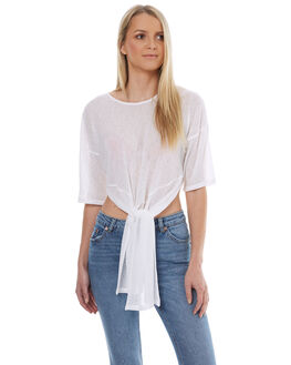 OFF WHITE WOMENS CLOTHING MINKPINK FASHION TOPS - MB1702002OWHT