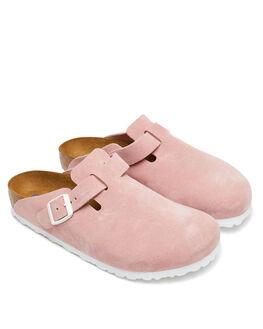 ROSE WOMENS FOOTWEAR BIRKENSTOCK FLATS - 1012837WROSE
