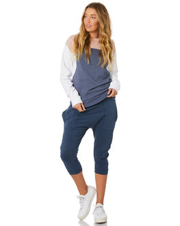 BLUE WOMENS CLOTHING SILENT THEORY PANTS - 6008241BLU