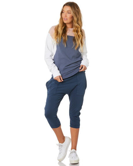 BLUE WOMENS CLOTHING SILENT THEORY PANTS - 6008241BLU
