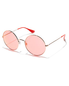 SHINY COP RED WOMENS ACCESSORIES RAY-BAN SUNGLASSES - 0RB35929035C8