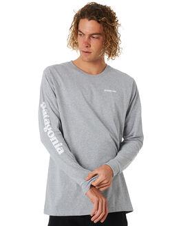 DRIFTER GREY MENS CLOTHING PATAGONIA TEES - 39042DFTG
