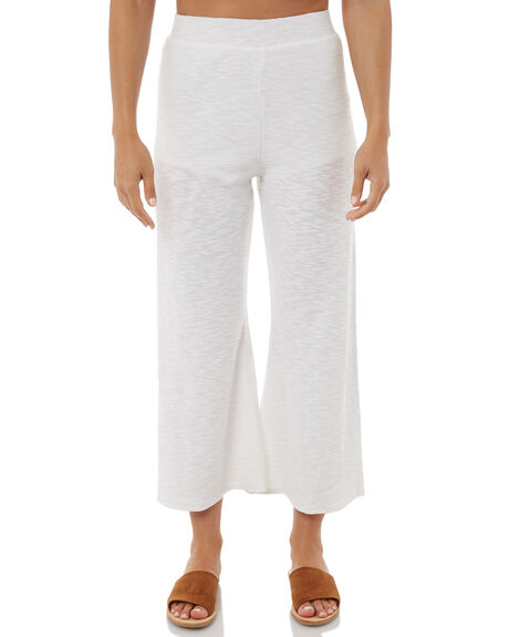 WHITE WOMENS CLOTHING ZULU AND ZEPHYR PANTS - ZZ1882WHT