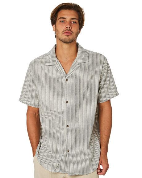 VINTAGE MUSTARD MENS CLOTHING RHYTHM SHIRTS - JAN19M-WT06-MUS