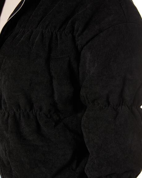 BLACK OUTLET WOMENS SNDYS JACKETS - SFJ077BLK