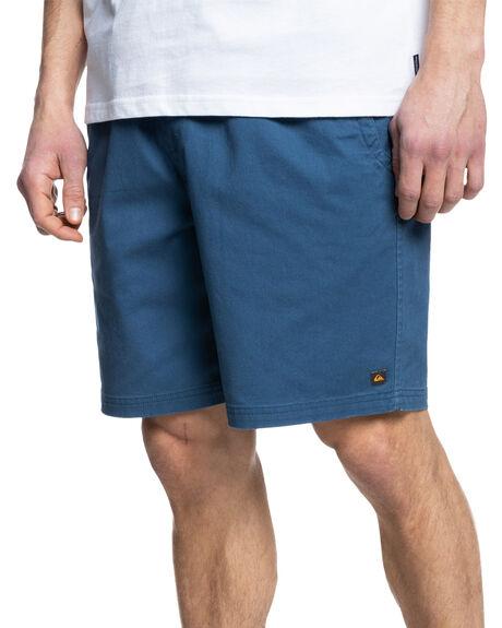 ENSIGN BLUE MENS CLOTHING QUIKSILVER SHORTS - EQMWS03113-BRD0