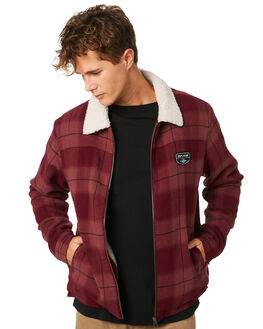 MARRON MENS CLOTHING RIP CURL JACKETS - CJKED19532