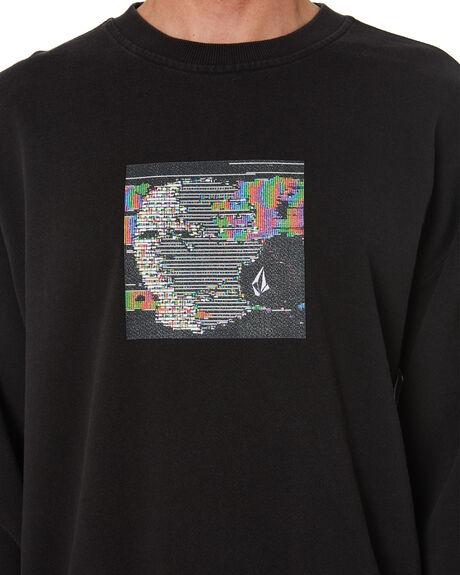BLACK MENS CLOTHING VOLCOM HOODIES + SWEATS - A4632104BLK