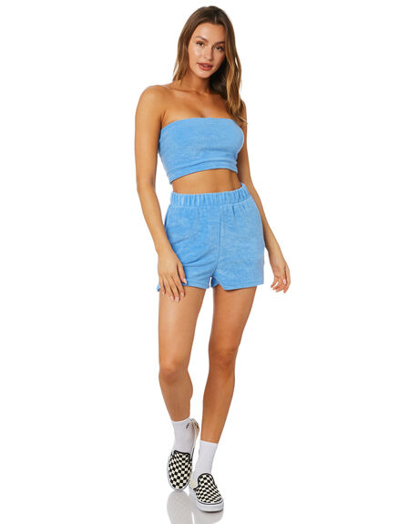 BLUE WOMENS CLOTHING INSIGHT FASHION TOPS - 1000089568BLUE