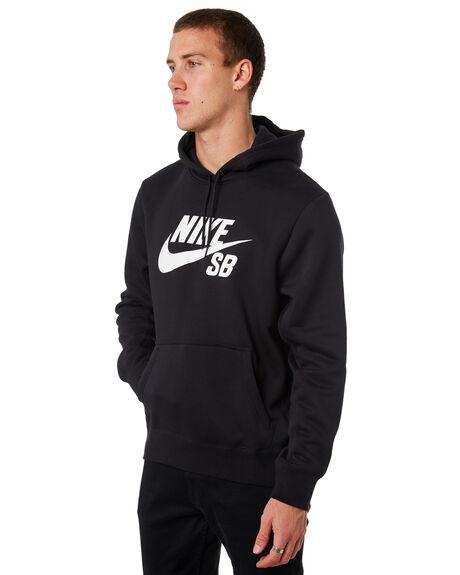 BLACK MENS CLOTHING NIKE JUMPERS - AJ9733010