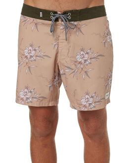 OLIVE MENS CLOTHING RHYTHM BOARDSHORTS - OCT18M-TR01-OLI