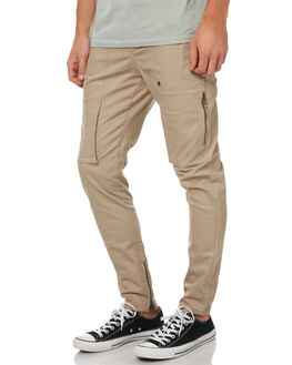 TAN MENS CLOTHING ZANEROBE PANTS - 700-CARBTAN