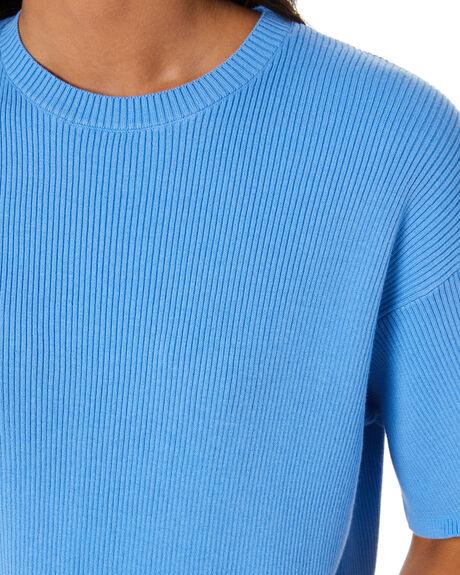 BLUE WOMENS CLOTHING SNDYS TEES - SET037BLU