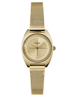 GOLD WOMENS ACCESSORIES TIMEX WATCHES - TW2T37600GLD