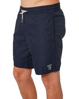 NAVY MENS CLOTHING BARNEY COOLS BOARDSHORTS - 806-CR4NVY