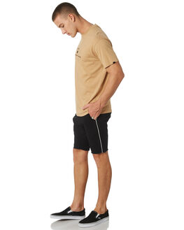 BLACK WHITE MENS CLOTHING ZANEROBE SHORTS - 605-VERBLKWHT