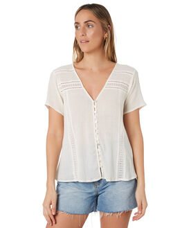 OFF WHITE WOMENS CLOTHING RIP CURL FASHION TOPS - GSHFP10003