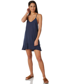 DARK BLUE WOMENS CLOTHING ALL ABOUT EVE DRESSES - 6423052NVY