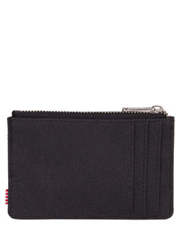 BLACK MENS ACCESSORIES HERSCHEL SUPPLY CO WALLETS - 10397-00001-OSBLK