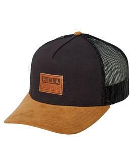 BLACK MENS ACCESSORIES BILLABONG HEADWEAR - 9682307ABLK
