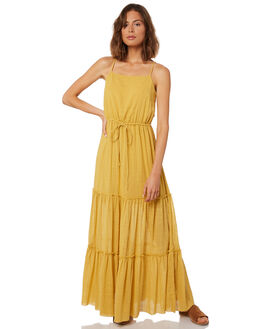 YELLOW WOMENS CLOTHING RUE STIIC DRESSES - WS18-37-Y-CSYEL
