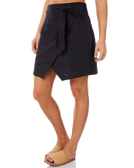 FRENCH NAVY WOMENS CLOTHING ELWOOD SKIRTS - W83609FNAV