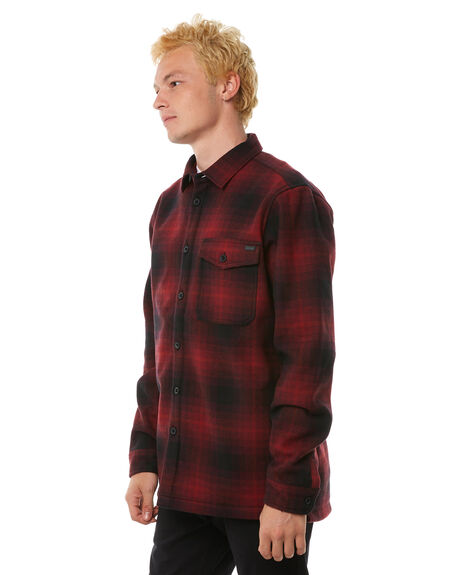 RED OUTLET MENS BILLABONG SHIRTS - 9585214RED